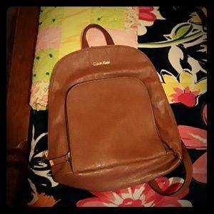 Calvin Klein backpack pruse